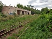 Ужгород. Заброшенная железнодорожная станция в Подзамковом парке