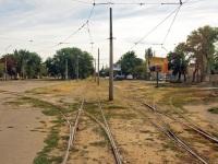 Николаев. Трамвайное кольцо на улице Чкалова