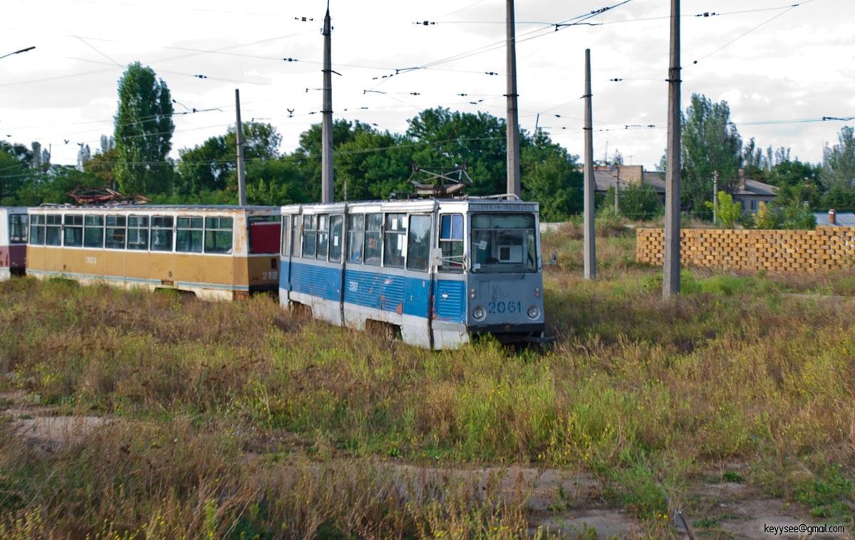 Николаев. 71-605 (КТМ-5) №2121, 71-605 (КТМ-5) №2061