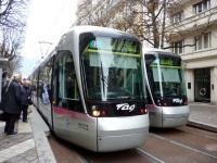Гренобль. Alstom Citadis 402 №6003, Alstom Citadis 402 №6026