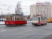 Санкт-Петербург. МС-4 №2575, 71-134А (ЛМ-99АВ) №3310