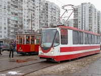 Санкт-Петербург. МС-4 №2424, 71-134А (ЛМ-99АВН) №3915