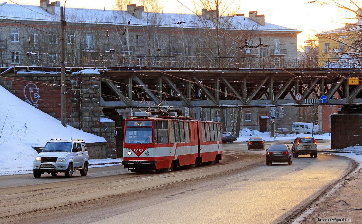 Санкт-Петербург. ЛВС-86К №5053