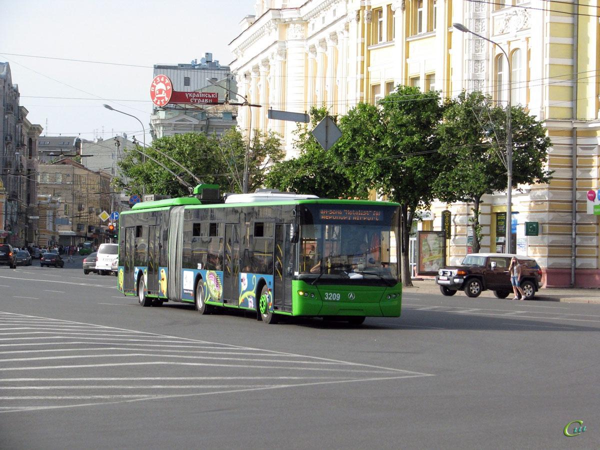 Харьков. ЛАЗ-Е301 №3209