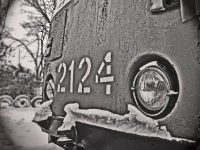 Николаев. Трамвай КТМ-5А №2124
