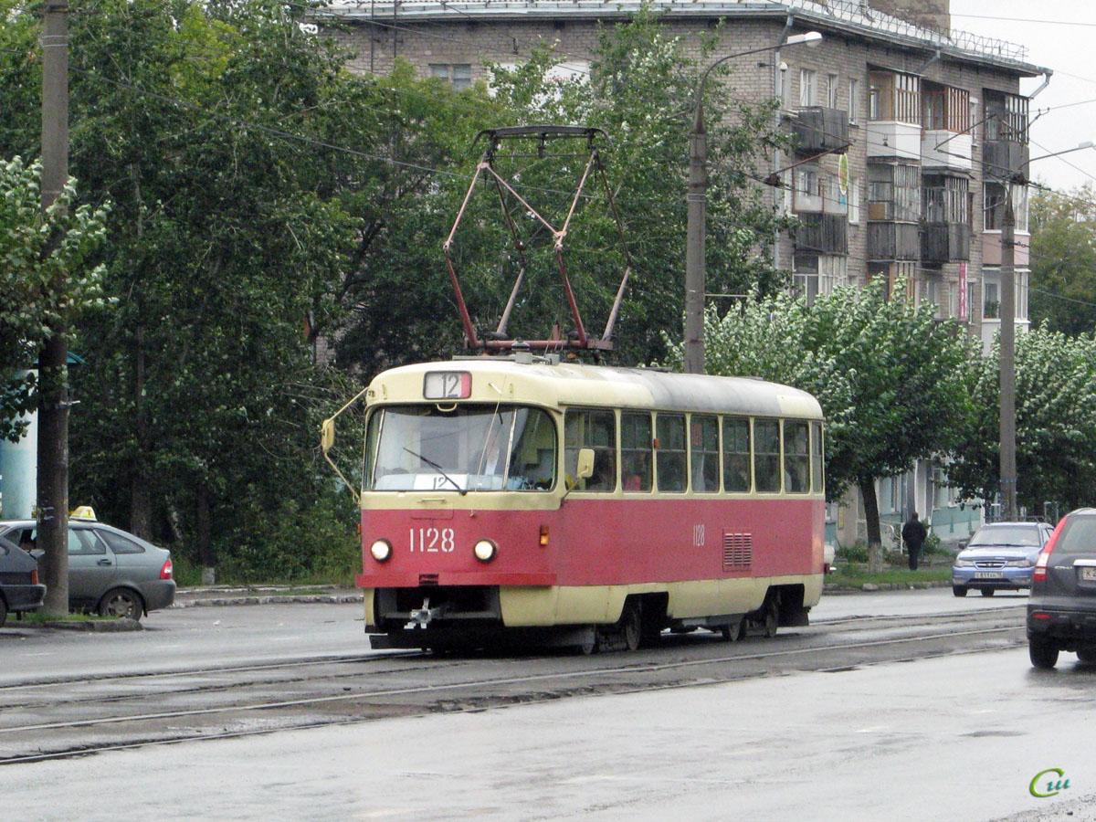 Ижевск. Tatra T3 (двухдверная) №1128