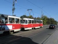 Прага. Tatra T3SUCS №7086, Tatra T3 №7085
