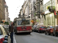 Будапешт. Ikarus 412.81T №707