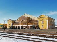 Жлобин. Железнодорожный вокзал станции Жлобин-Пассажирский