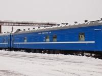Могилев. Вагон-лаборатория ЦЛМ №72598, станция Могилёв-I