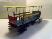 Санкт-Петербург. Модель вагона Босоножка 1901 года, масштаб 1:43