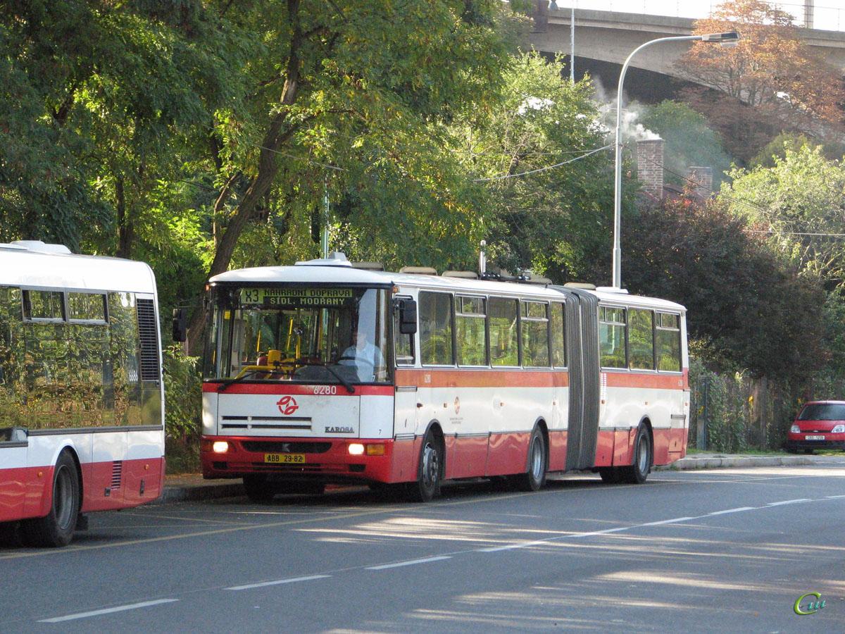 Прага. Karosa B941E ABB 29-82