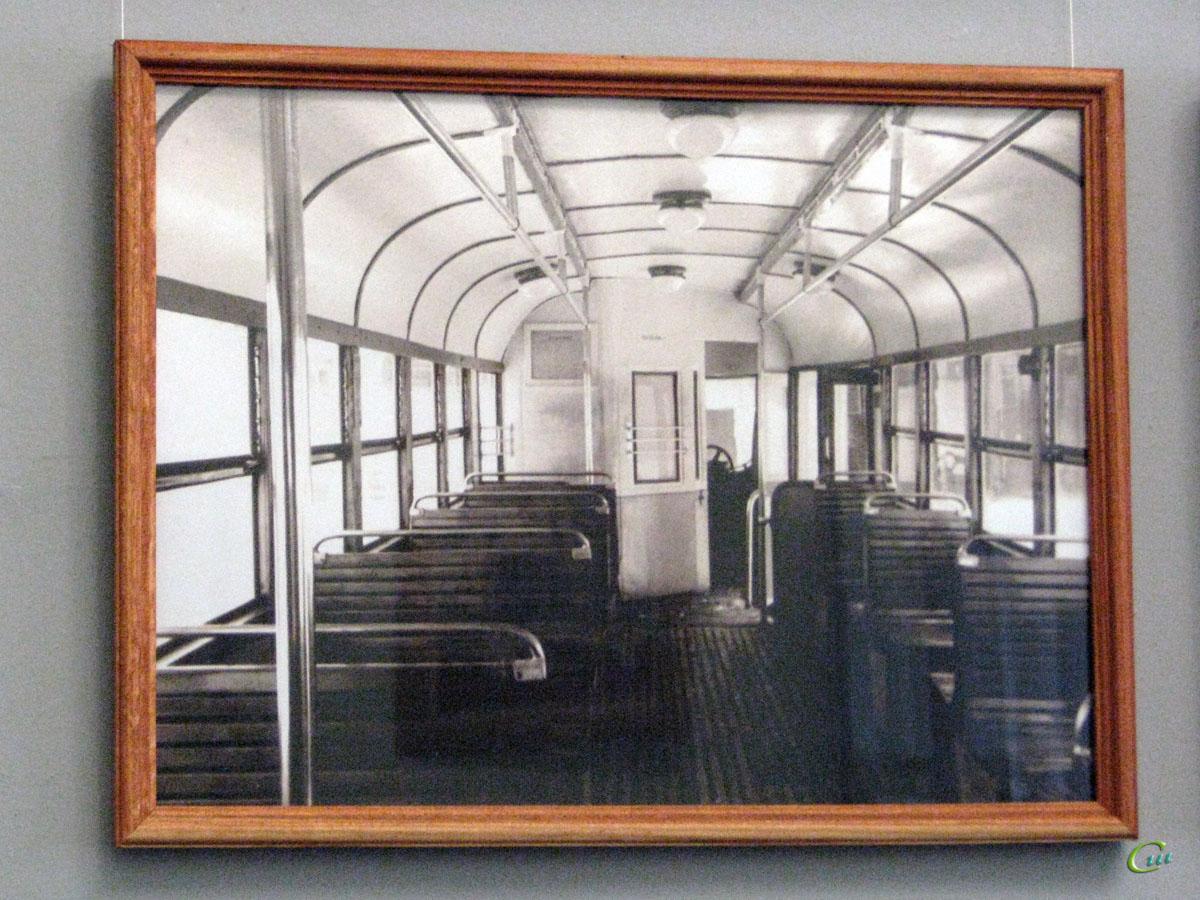 Таганрог. Салон одного из первых трамваев