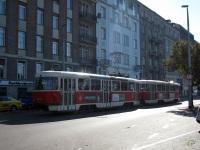 Прага. Tatra T3 №8312, Tatra T3 №8313