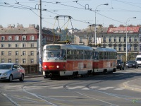 Прага. Tatra T3 №8464, Tatra T3 №8465