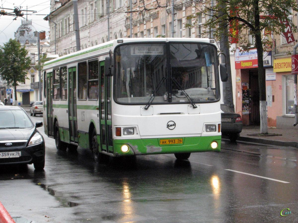 Рыбинск. ЛиАЗ-5256 ак993