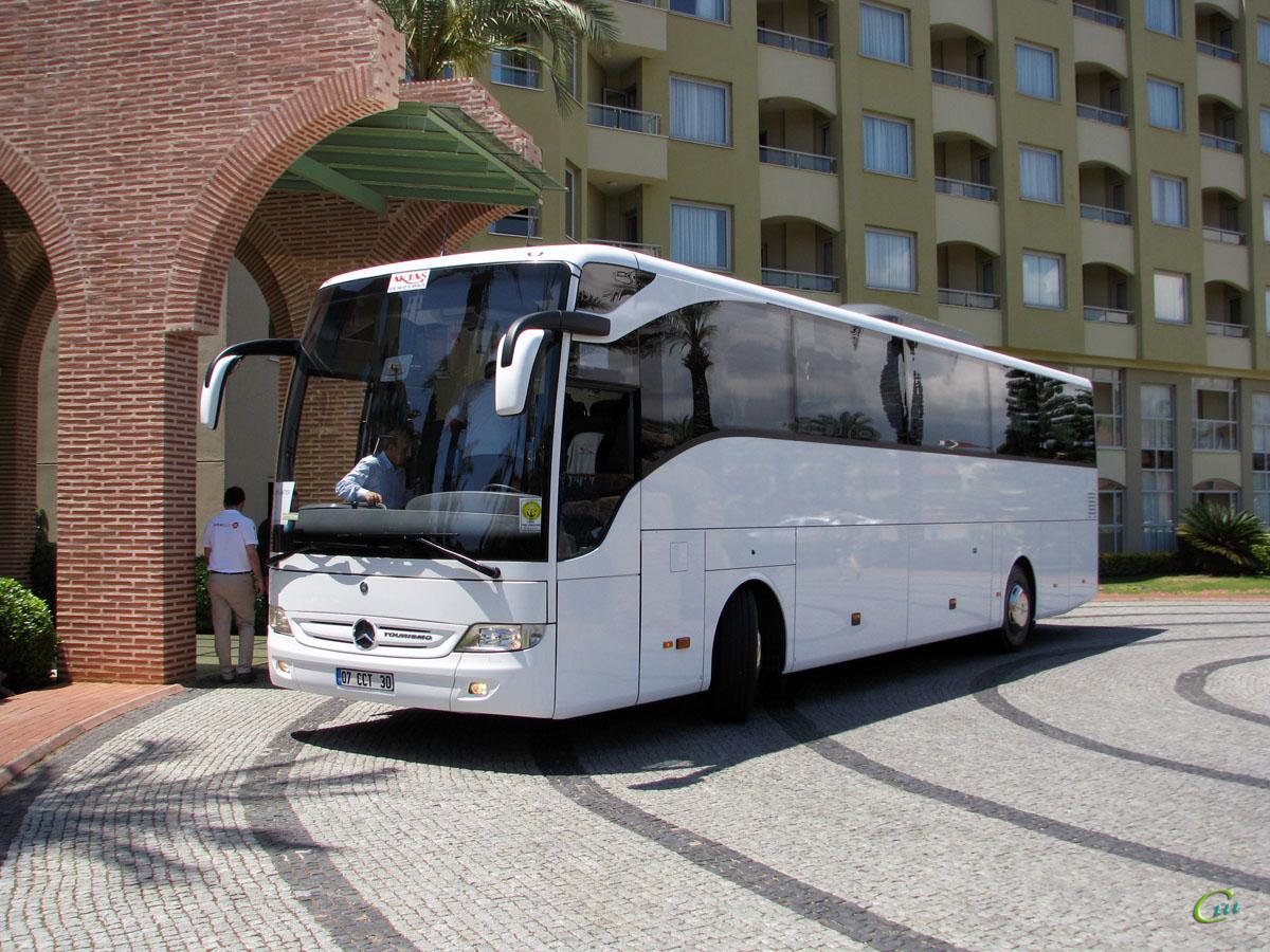 Анталья. Mercedes O350 Tourismo 07 CCT 30