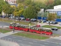 Варшава. Konstal 105Ne №1408, Konstal 105Ne №1407