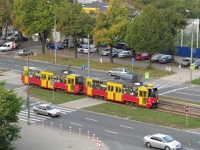 Варшава. Konstal 105Na №1296, Konstal 105Na №1295