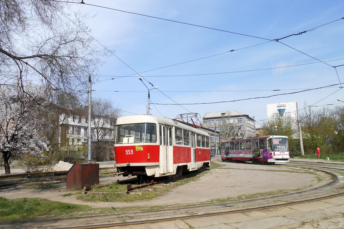 Донецк. Tatra T3SU №3959