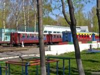 Нижний Новгород. Подвижной состав на станции Родина нижегородской детской железной дороги