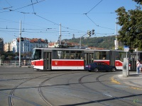 Прага. Tatra KT8D5 №9096