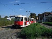 Прага. Tatra T3 №8487