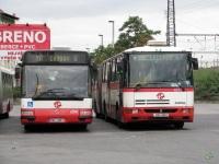 Прага. Irisbus Agora L/Citybus 18M 5A2 4691, Karosa B961 2A6 0952