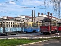 Нижний Новгород. Общий вид музейной площадки в трамвайном депо №1
