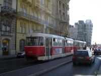 Прага. Tatra T3 №8524, Tatra T3 №8525