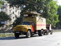 Таганрог. Автомобиль службы контактной сети на базе ЗиЛ-130 (е553ао)