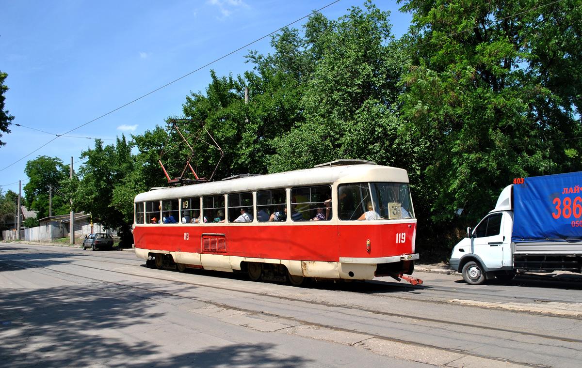 Донецк. Tatra T3 №119