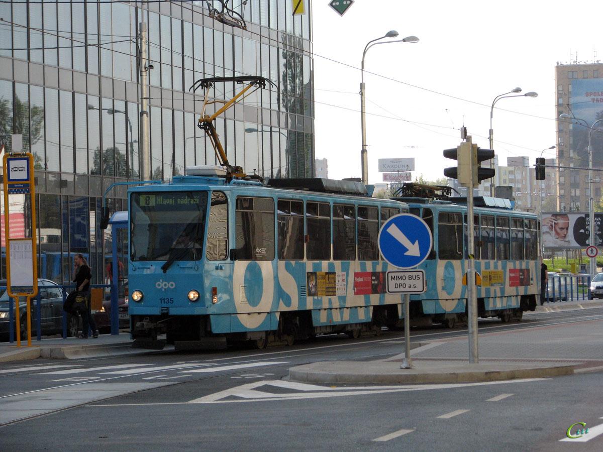 Острава. Tatra T6A5 №1135, Tatra T6A5 №1131