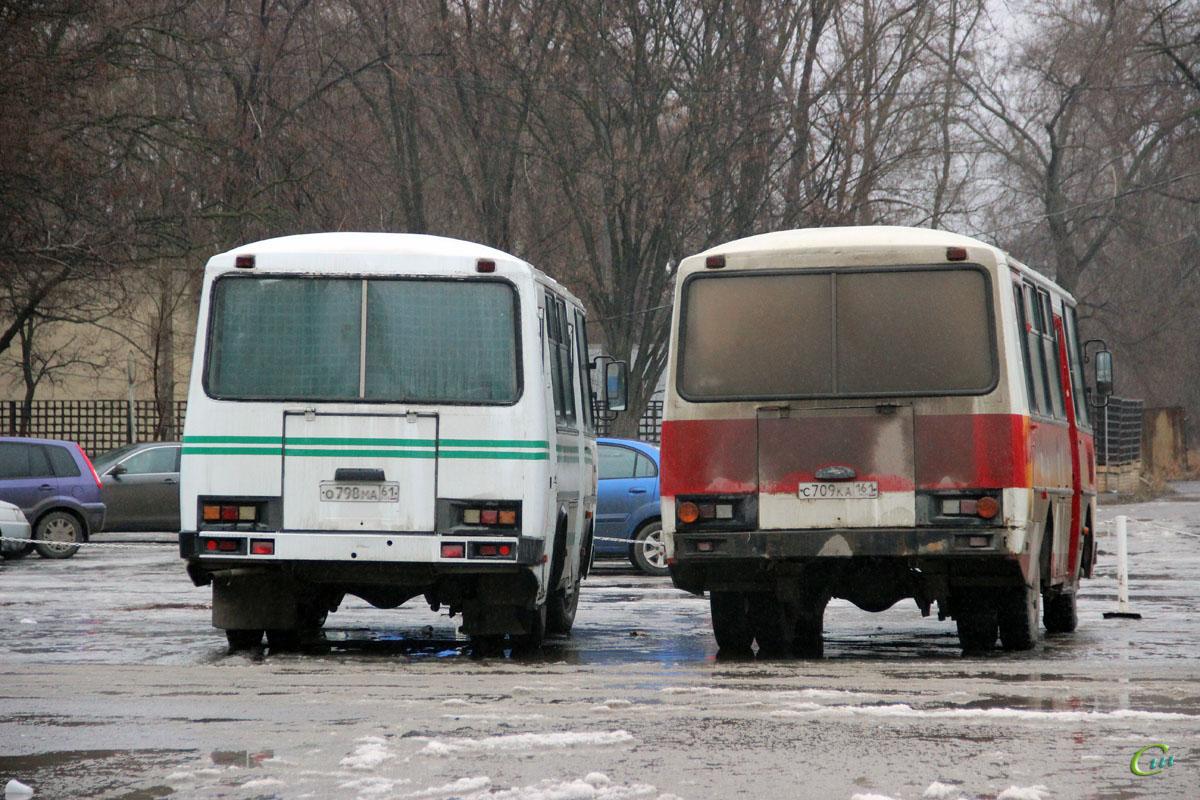 Волгодонск. ПАЗ-3205 с709ка, ПАЗ-32051 о798ма
