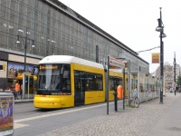 Берлин. Bombardier Flexity Berlin GT6 №4012