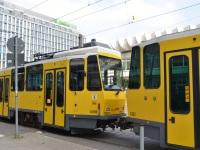 Берлин. Tatra KT4 №6162, Tatra KT4 №6098