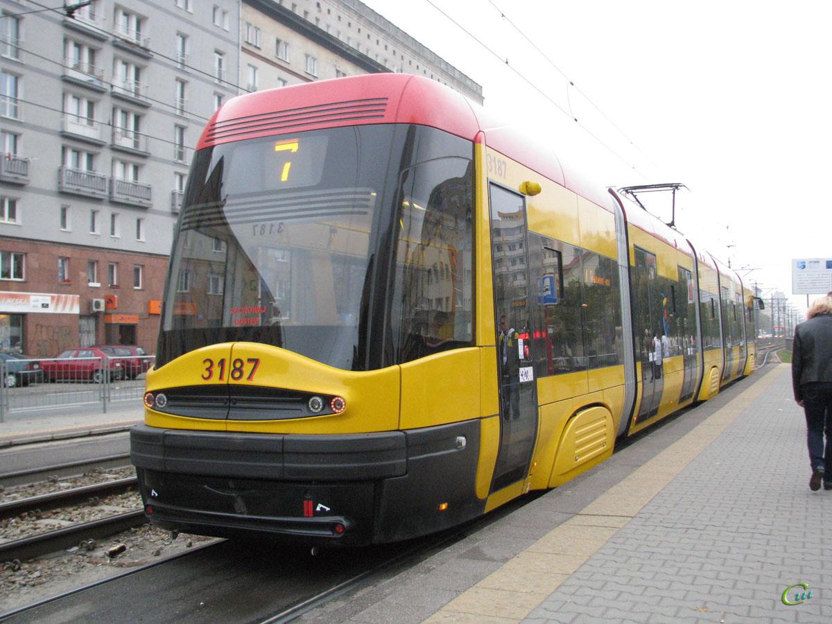 Варшава. PESA 120Na №3187