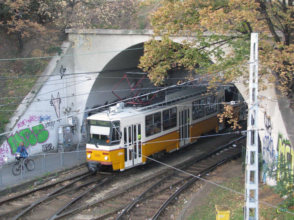 Будапешт. Tatra T5C5 №4066