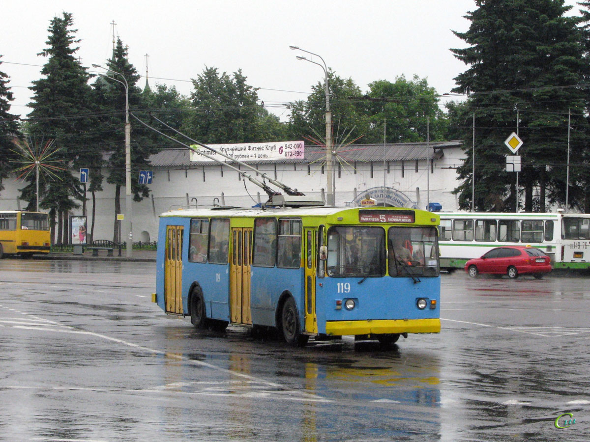 Ярославль. ЗиУ-682Г00 №119