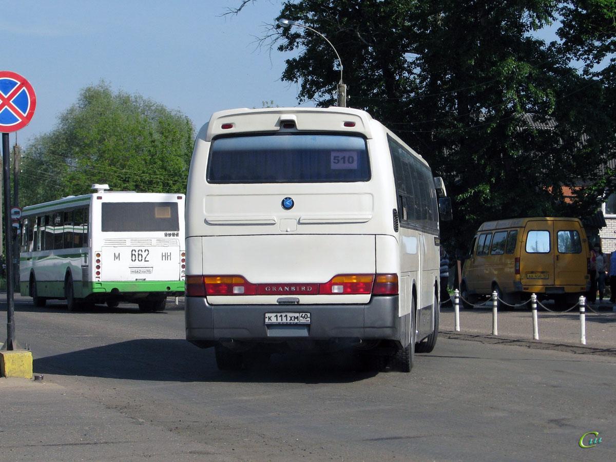 Обнинск. ЛиАЗ-5256 м662нн, Kia Granbird к111хм
