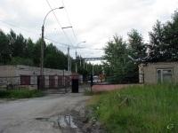 Вологда. Выезд из троллейбусного депо