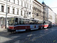 Прага. Tatra T6A5 №8742, Tatra T6A5 №8743