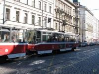Прага. Tatra T6A5 №8743