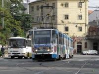 Брно. Трамвай Tatra KT8D5 №1738 на 8 маршруте