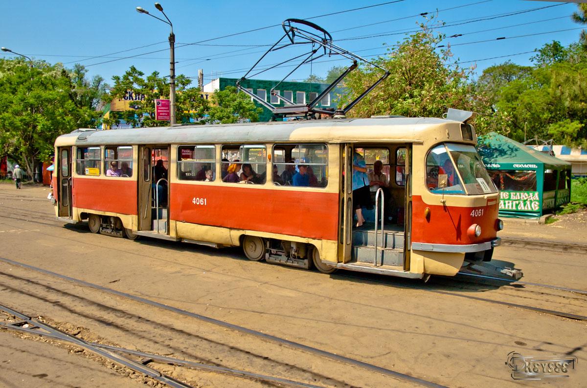 Одесса. Tatra T3SU №4061
