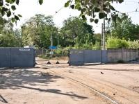 Одесса. Въездные ворота трамвайного парка №2, улица Парковая
