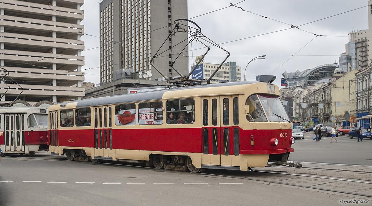 Киев. Tatra T3SU №6013