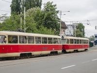 Киев. Tatra T3SU №6015, Tatra T3 №5529
