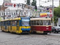 Киев. Tatra KT3 №412, Tatra T3 №5529