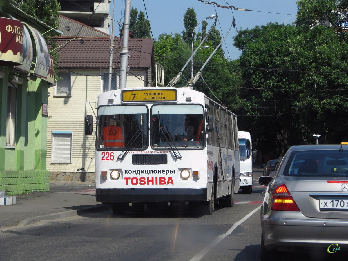 Краснодар. ЗиУ-682Г-018 (ЗиУ-682Г0Р) №226